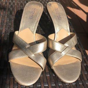Michael Kors kitten sandals size 7.5